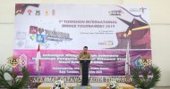 Wali Kota JFE Buka Tournamen International Bridge